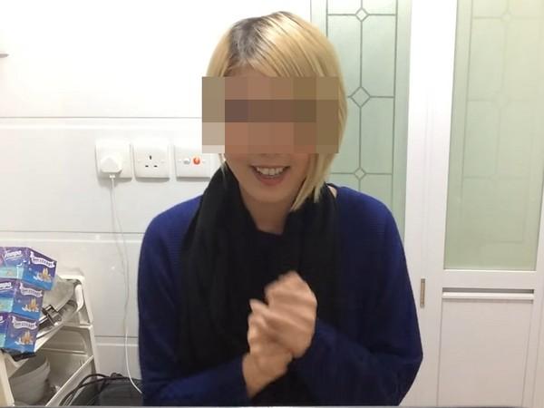 资讯生活女歌手被曝求复合不成挥镰刀自残 误伤男方
